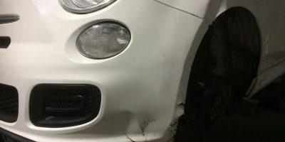 FIAT 500 Damaged